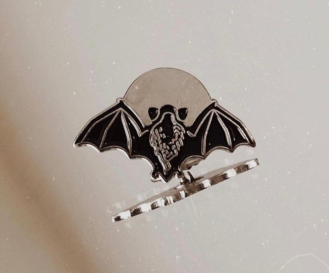 Creature of the Night Enamel Pin