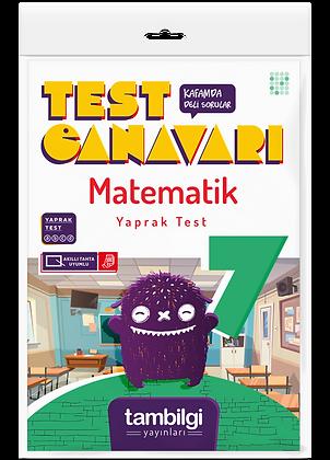 Matematik Yaprak Test