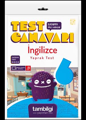 İngilizce Yaprak Test