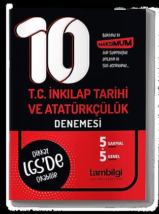 T.C İnkılap Tar. ve Atatürkçülük Branş Denemesi