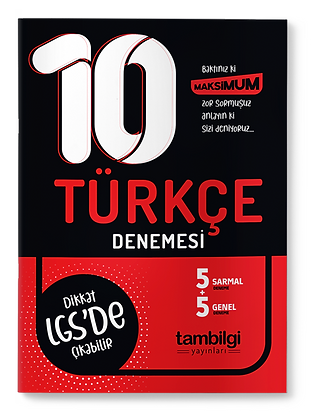Türkçe Branş Denemesi