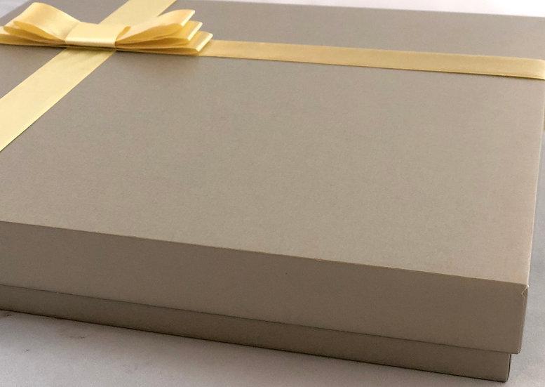 Large Square Box of chocolate