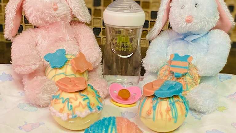 Gender Reveal Cocoa Bombs