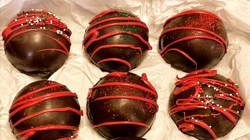 Sampler Pack - 6 Hot Chocolate Bombs