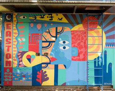 Easton Energy Mural