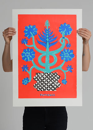 Limited Edition 'Patience' Screenprint