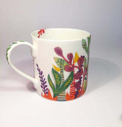 Bone China Jungle Mug