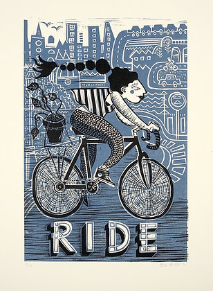 Limited Edition 'Ride' Print
