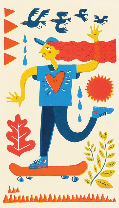 Gloucester Road Screen Print & Illustration