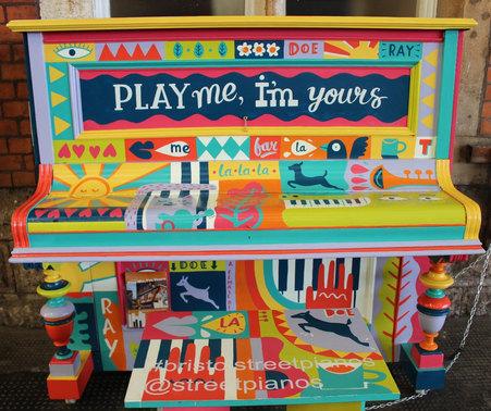 Handpainted Piano