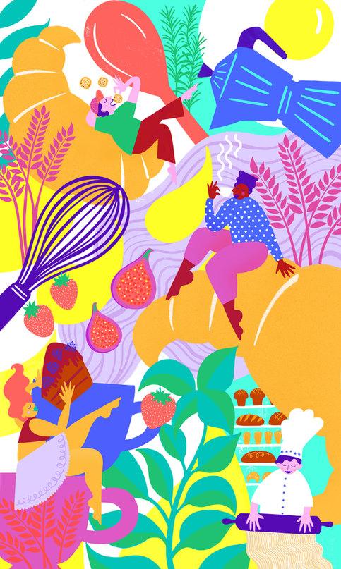 Bakery / Cafe Illustration