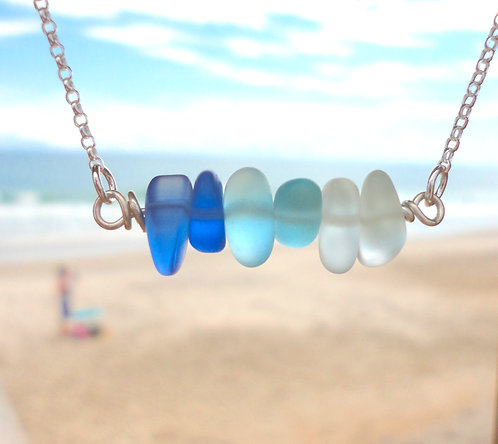 Ombre Bar Necklace Set