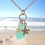 Thumbnail: Sea Glass Charm Necklace