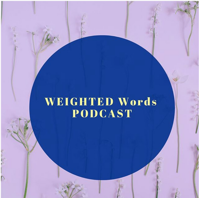 Cover Art for Weighted Words