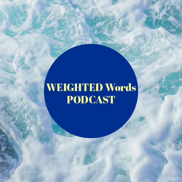 Promo Graphic for Weighted Words Episode 3.1 (Slide 3 of 3)