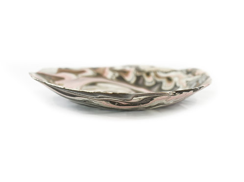 MARBLED MUSK LARGE PLATE