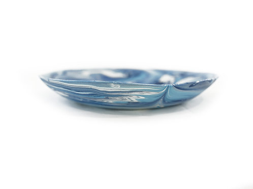 DIVINE BLUE LARGE PLATE
