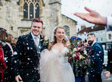 Emma & Simon | The Talbot, Malton Wedding
