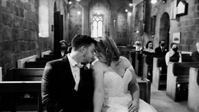 David & Lauren   Intimate Church Wedding