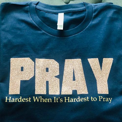 Pray Hard‼️