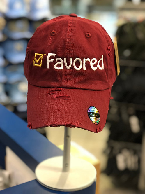 Favored Distressed hat