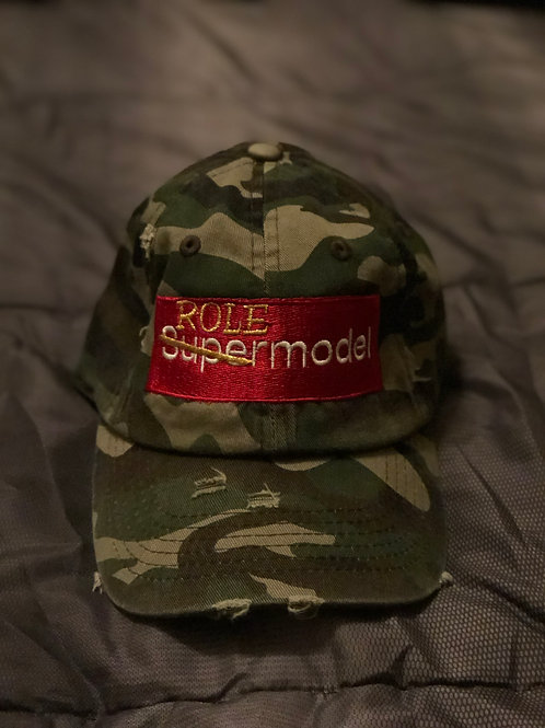 Role Model Distressed Hat