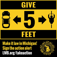 September 6, 2016 Update - Bicycle Safety Legislative Update from The League Of Michigan Bicyclists