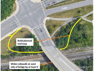 Letter to Ann Arbor City Council re. WBWC Comments on East Medical Bridge Project