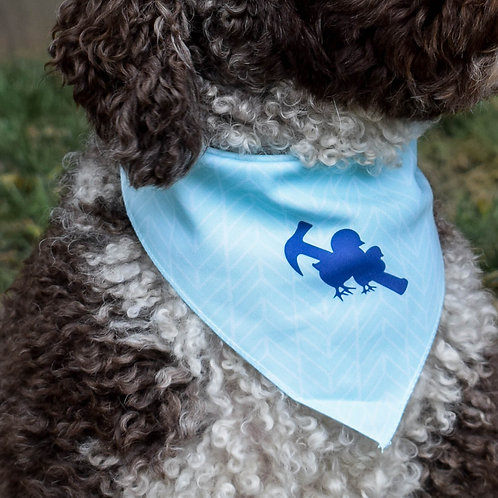 Teal Dog Bandana