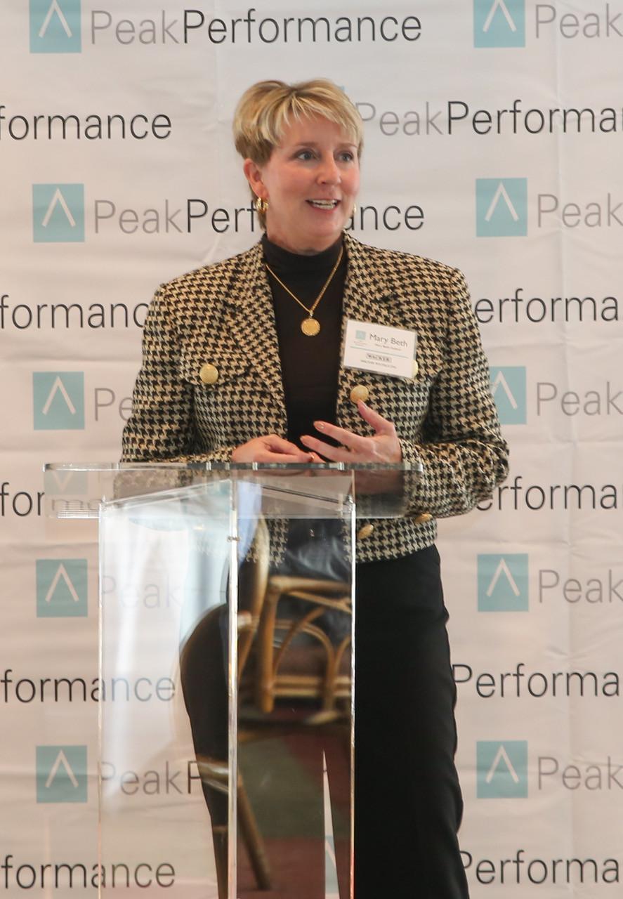 Marybeth Hudson Continuous Improvement Peak Performance Symposium