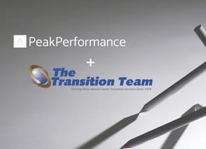 Peak Performance & The Transition Team Announce New Partnership