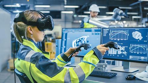 Factory: Female Industrial Engineer Wear