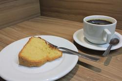Bolo com café (Xicara)