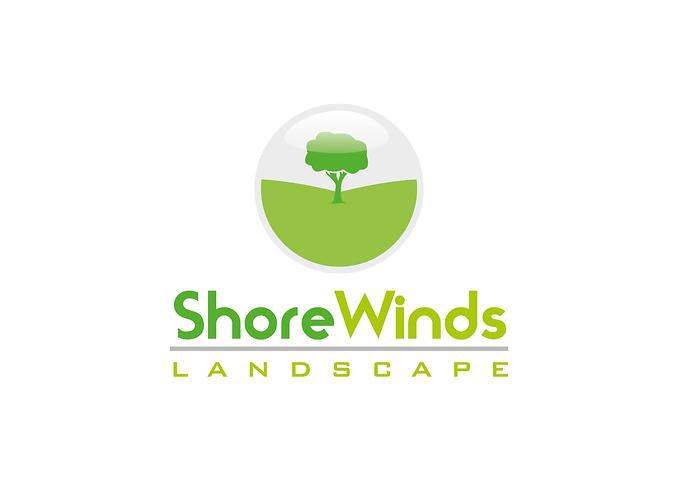 shorewinds landscape logo