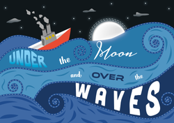 The Moon And The Waves