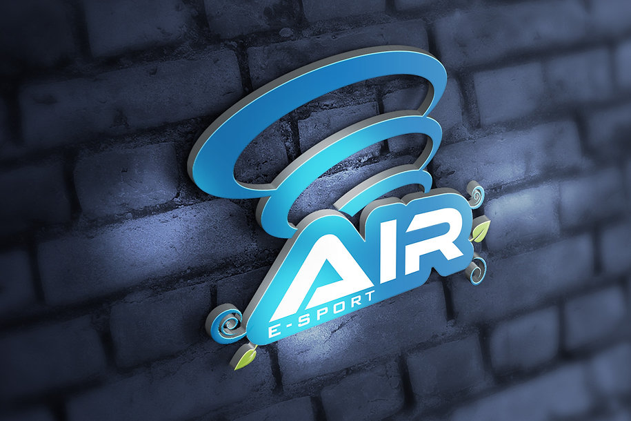 AIR E-sport Log Design
