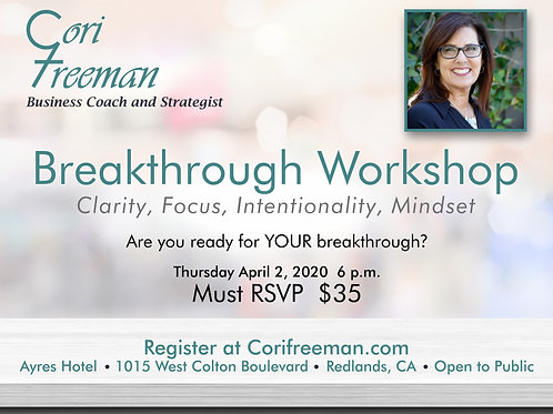 Breakthrough Workshop