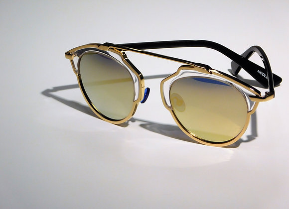 Gold Outlook Sunglasses front view