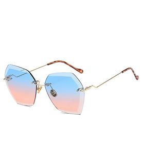 Nools - Blue/Pink RL Silhouette Vintage Sunglasses