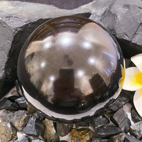 Polished Shungite Sphere 100mm