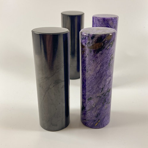 shungite and charoite harmonisers