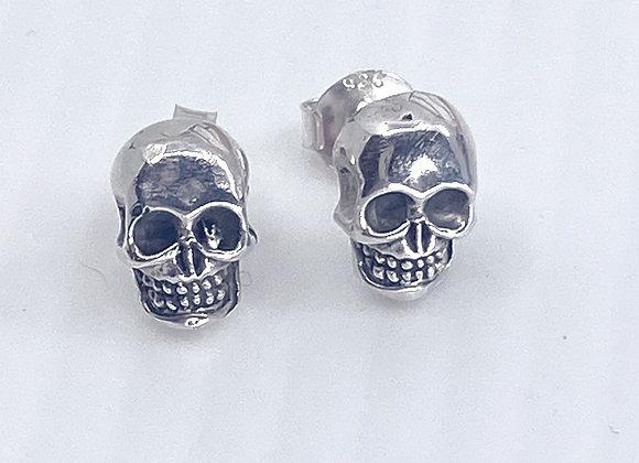 Skull Stud Earrings (Large)