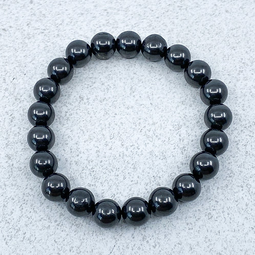 Bracelet - 10mm beads - 21 cm - LARGE