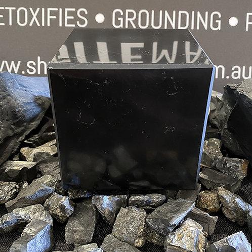 Polished Shungite Cube 80mm