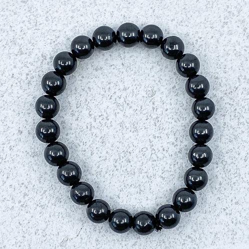Bracelet - 8mm beads - 18.4 cm