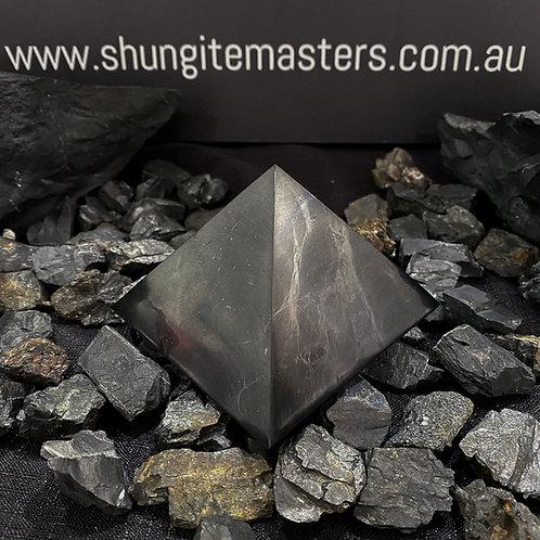Polished Shungite Pyramid 80mm