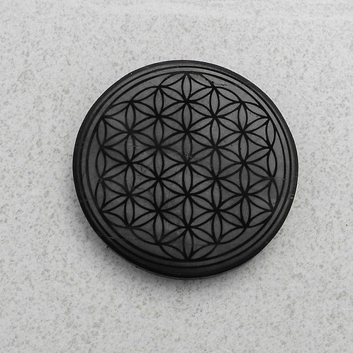 "Magnet Polished - ""Flower of Life"" - Round"