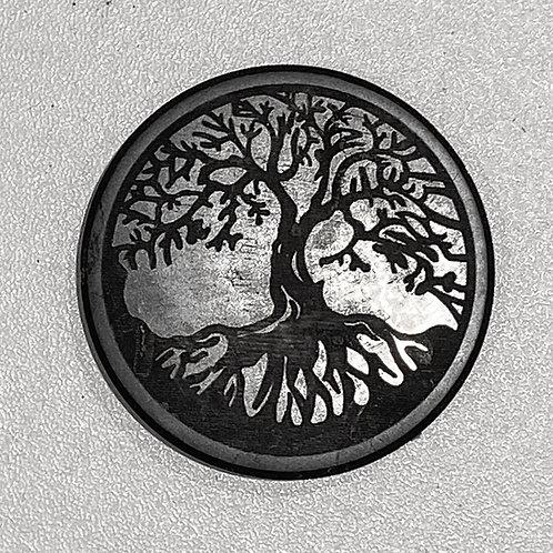SHUNGITE MAGNET TREE OF LIFE