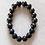 Shungite and Lava Bead Bracelet