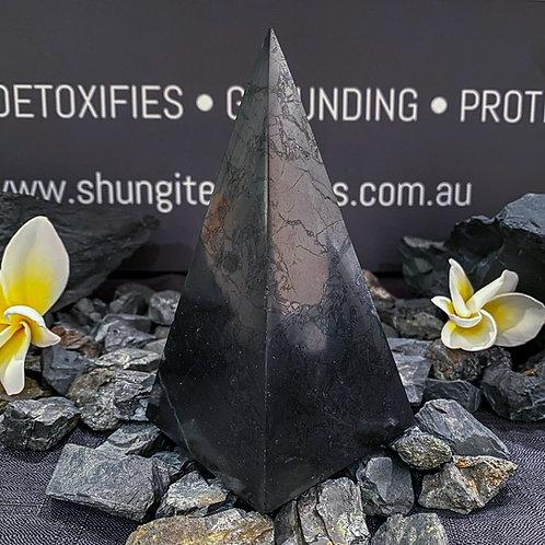 Polished Shungite High Pyramids 60mm
